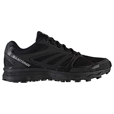 4fa9bf23e97 Karrimor Mens Tempo 5 Trail Running Shoes Lace Up Lightweight Mesh Upper   Amazon.co.uk  Shoes   Bags