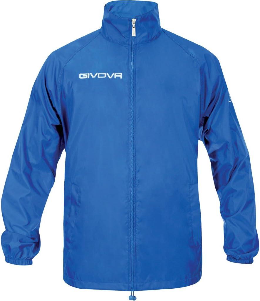 Givova, rain basico, azul, 3XS
