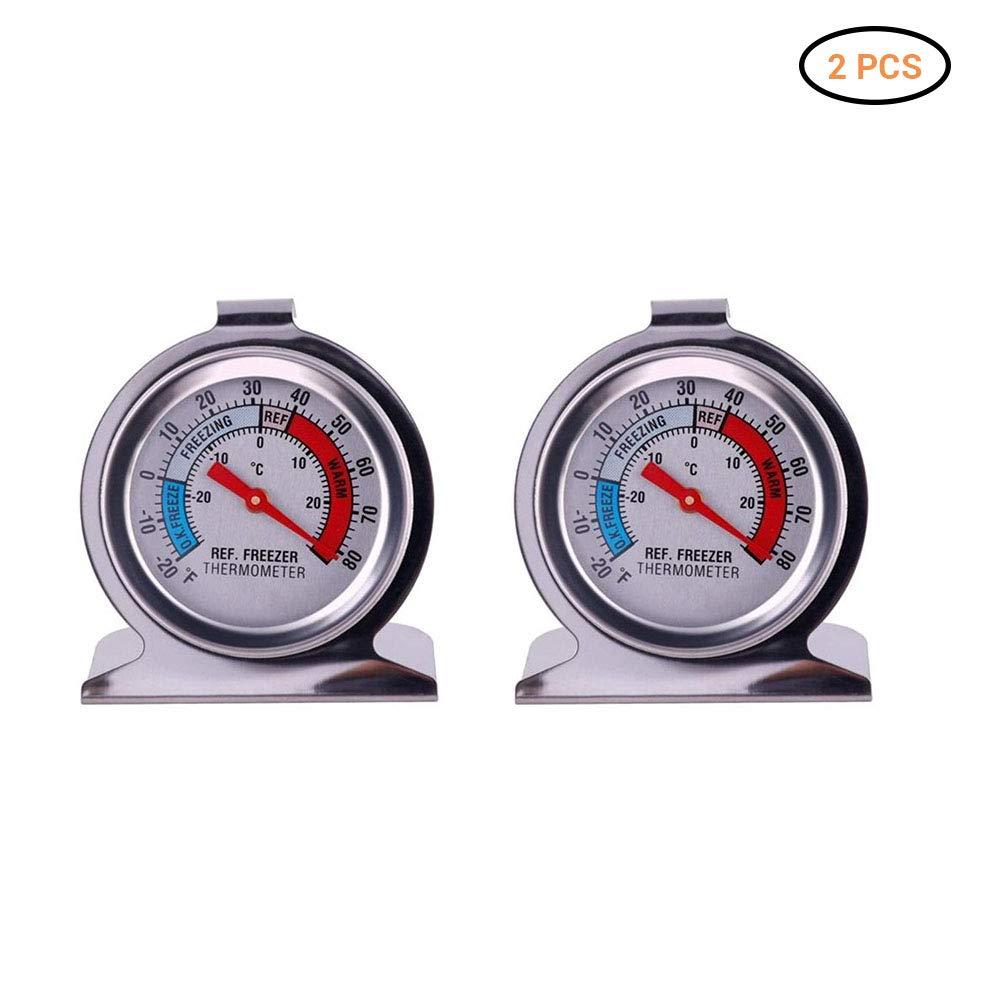 Lispeed Termómetro con congelador, refrigerador, termómetro de ...