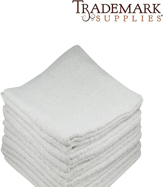 288 new orange irregular microfiber towels cleaning plush 16x16 300 gsm lintfree