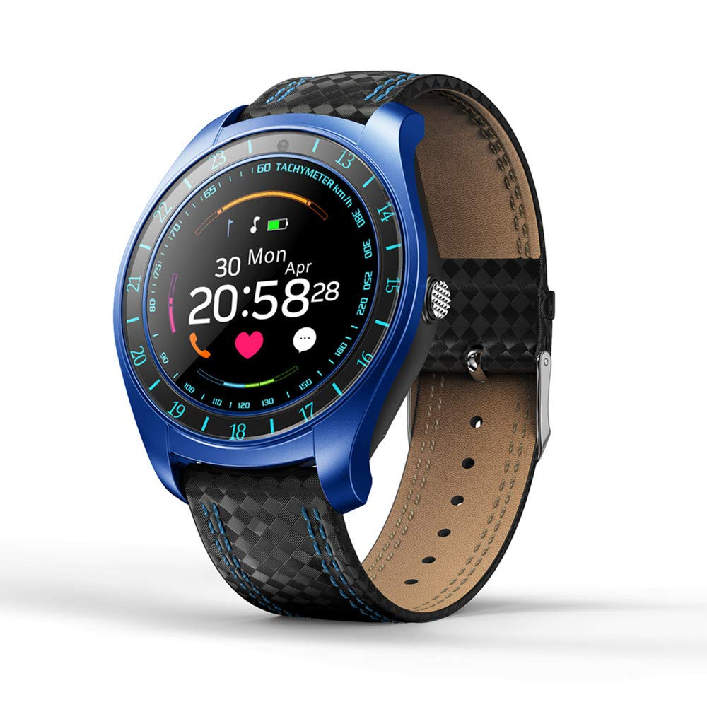 Sports Fitness Tracker,INorton Smart Watch with Camera,Heart Rate Sleep Monitor,Activity Tracker Support Sim Card for Android