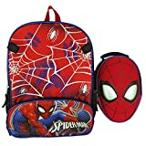 Spiderman Boys School Backpack Lunch Box Book Bag Combo SET