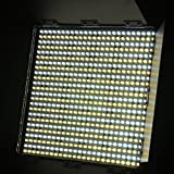 600 LED Color Changing Photography Video Lite Panel BI COLOR LED Video Panel Sony V Mount adapter 110V - 230V 600CHS