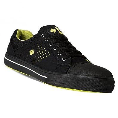 uk availability f2a93 1f9f8 2work4 Sicherheitsschuhe Sneaker S1P Cheetah 38 Schwarz
