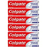 Colgate Baking Soda and Peroxide Whitening Toothpaste - 8 ounce (6 Pack)