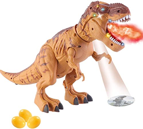 Grand dinosaure Monde Dragon projection oeufs Laying Walking Sound Filles Garçons Jouets