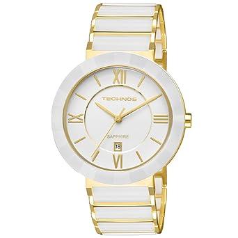 Relógio Technos Feminino Ceramic Sapphire Crystal 2015BV 4B  Amazon ... 5c2779b7ba