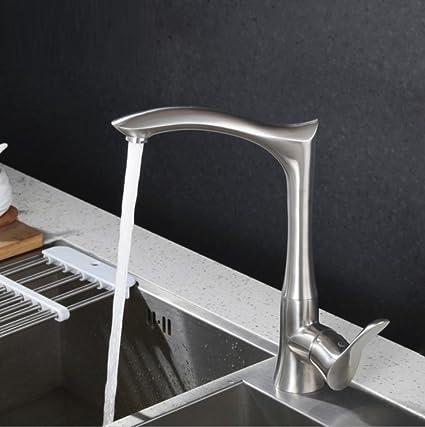 LD&P Rubinetteria per cucine e bagni, Cucina in acciaio inox ...