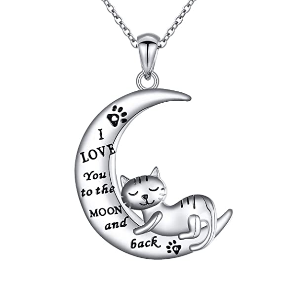 Amazon Com Jzmsjf S925 Sterling Silver I Love You To The Moon