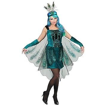 Disfraz vestido de carnaval Cosplay adulto mujer - pavo real ...