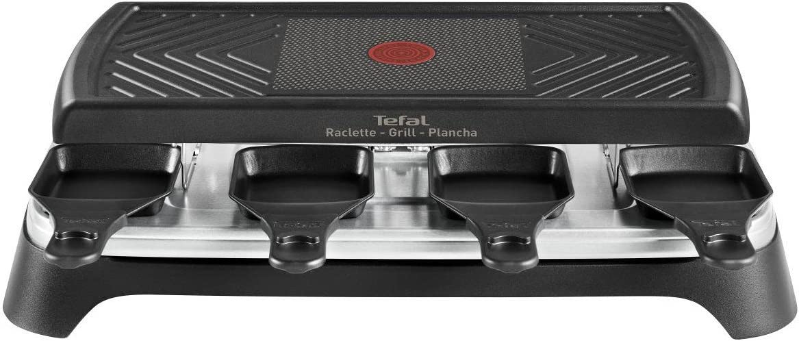 re459812 grill gourmet 8 smart Tefal Appareil /à raclette plancha 8 personnes 1100w
