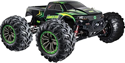 Amazon Com 1 10 Scale Rc Truck 4x4 48 Kmh Speed 30 Mph Large Scale Remote Control Car Free Priority Shipping All Terrain Radio Controlled Off Road Monster Truck For All
