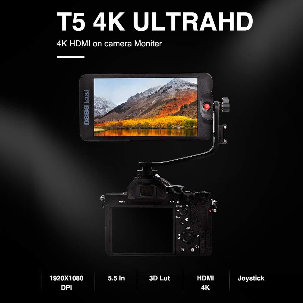 Osee T5 - Monitor de Campo de cámara HDMI 4K Full HD de 5,5 ...