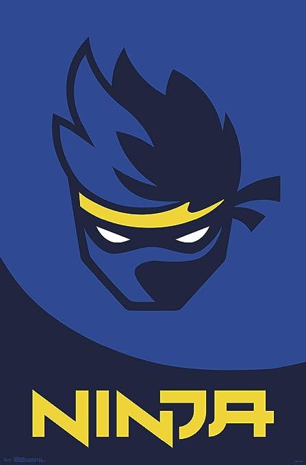 Trends International Ninja - Logo Wall Poster, 22.375