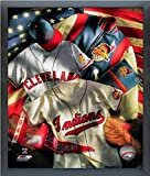 "Cleveland Indians MLB Cooperstown Collage Photo (Size: 17"" x 21"") Framed"