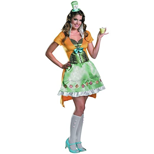 Apologise, adult deliriously mad hatter costume share