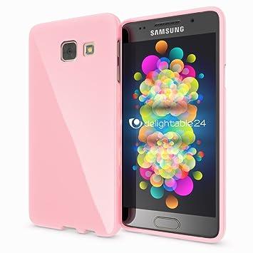 NALIA Funda Compatible con Samsung Galaxy A5 2016, Ultra-Fina Gel Protectora Movil Carcasa Silicona Telefono Bumper, Ligera Goma Cubierta Jelly ...