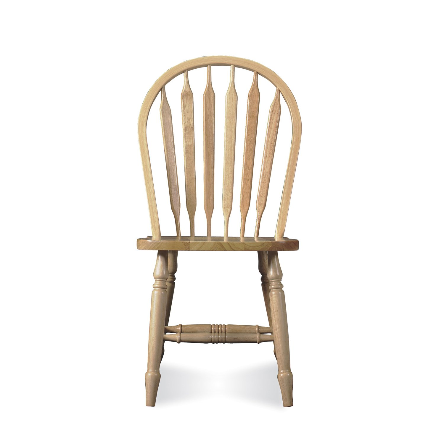 International Concepts C-213T Windsor Arrow Back Chair, Unfinished
