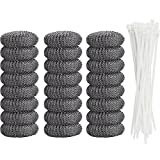 Best Ties For Washing Machines - Aboat 24 Pieces Lint Traps Washing Machine Lint Review