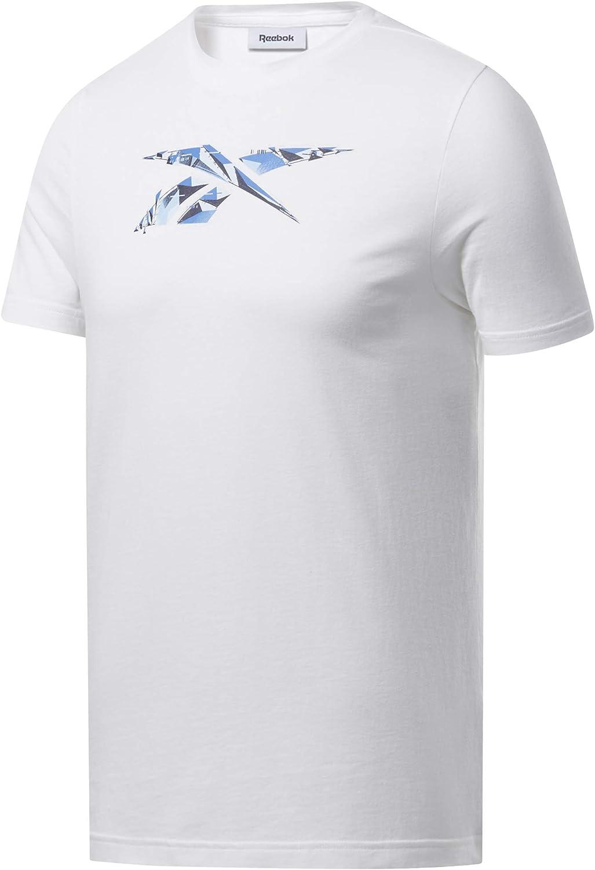 Reebok Men's Training Supply Cotton Graphic Tee: Clothing