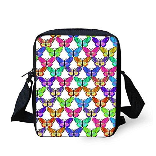 Sac Y Butterfly8 femme HUGS CC4243E Vert Butterfly10 bandoulière petit IDEA pour q6cBZwH