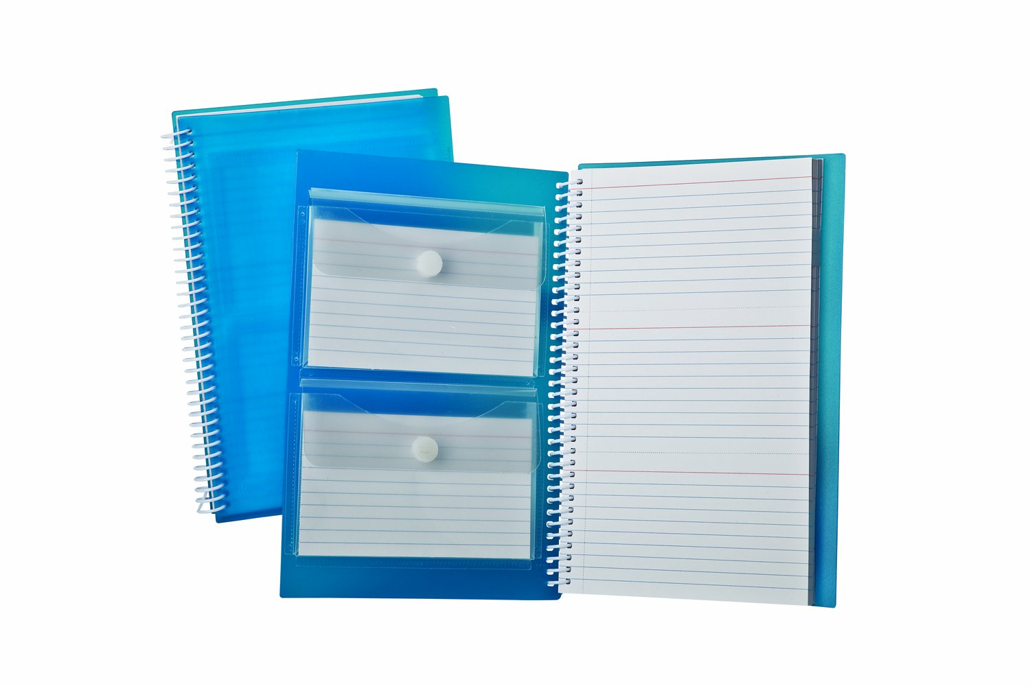 Oxford Index Card Notebook, 3'' x 5'', Ruled, White, 3 Perforated Cards per Sheet, 150 Cards Total (40288)