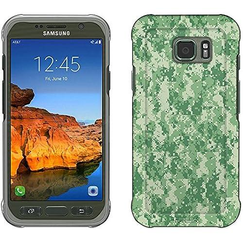 Samsung Galaxy S7 Active Case, Snap On Cover by Trek Digital Camo Green Slim Case Sales