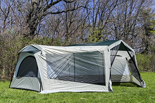 Tahoe Gear Carson 3-Season 14 Person Large Family Cabin Tent