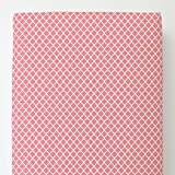 Carousel Designs Watermelon Pink Moroccan Toddler Bed Sheet Fitted