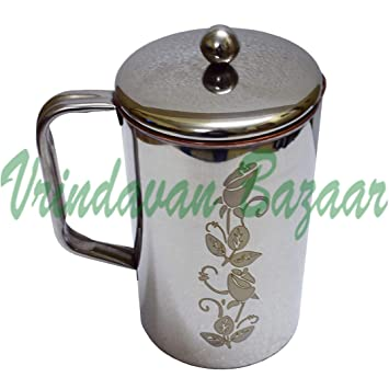 Vrindavan Bazaar - Jarra (acero): Amazon.es: Hogar
