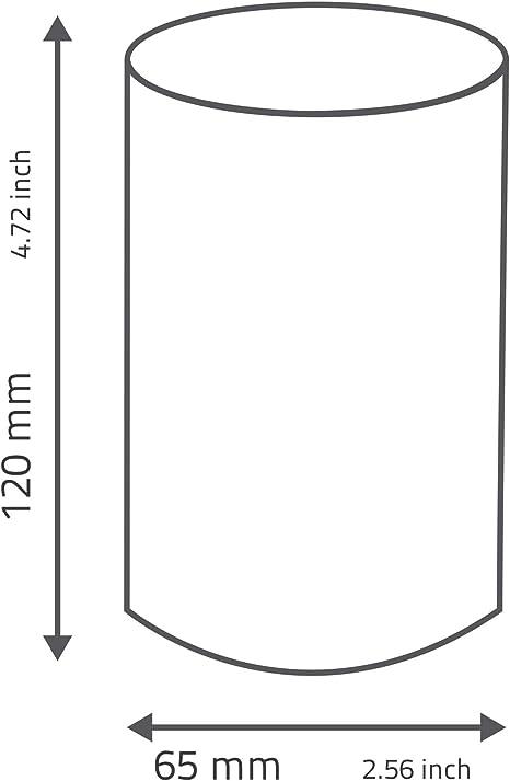 schwarz 6,5/x 6,5/x 12/cm Acryl RIDDER Zahnputzbecher Disco