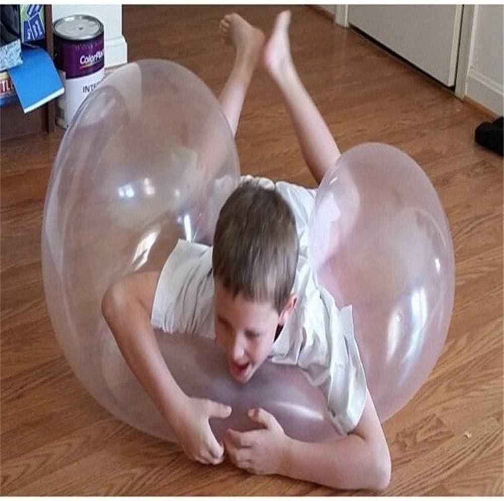 AN AN 4 Colores Big Amazing Bubble Ball Bolas de Goma interactivas llenas de Agua al Aire Libre