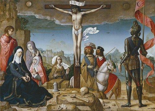 The Polyster Canvas Of Oil Painting 'Flandes Juan De La Cruc