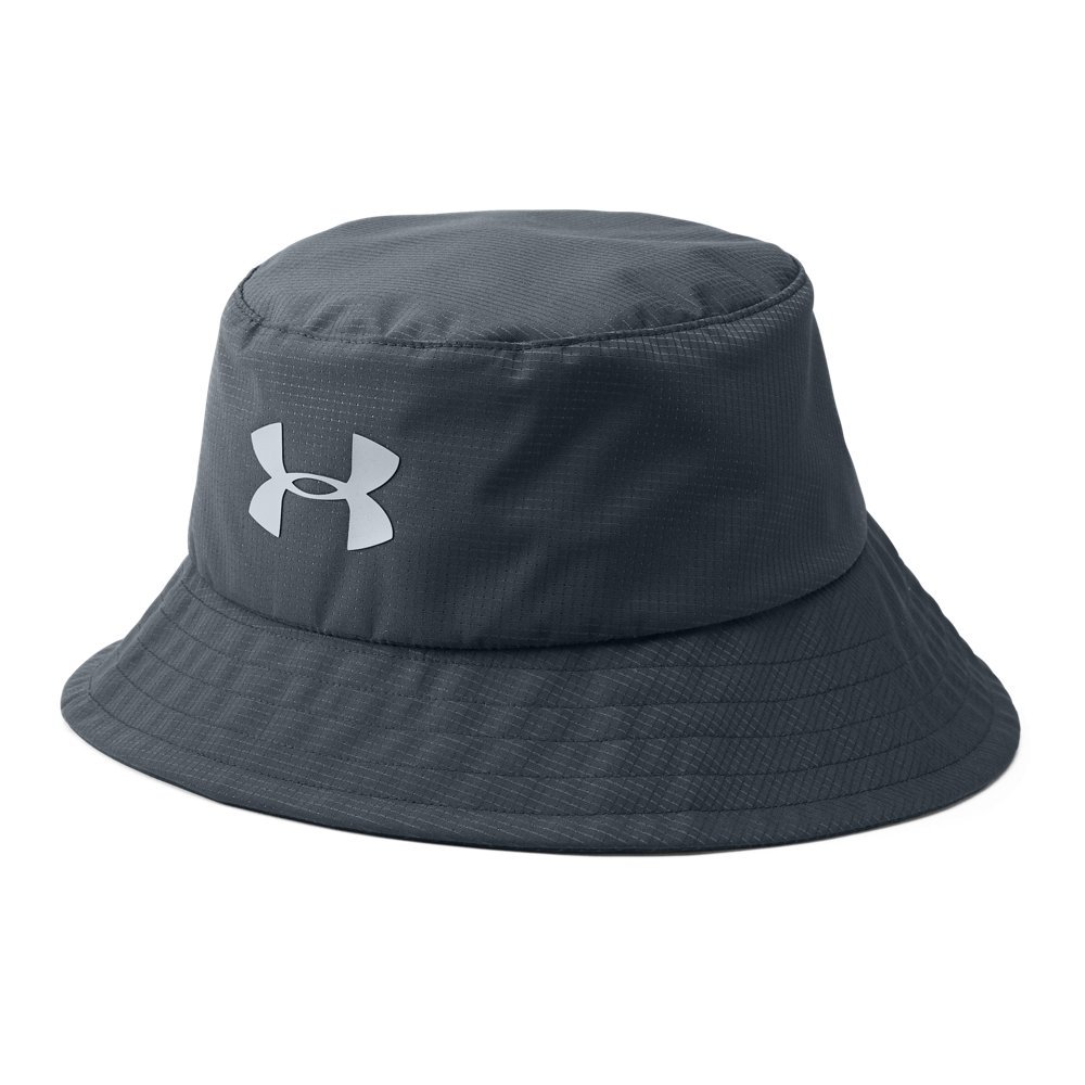 Under Armour Men's Storm Golf Bucket Hat, Stealth Gray/Steel, Medium