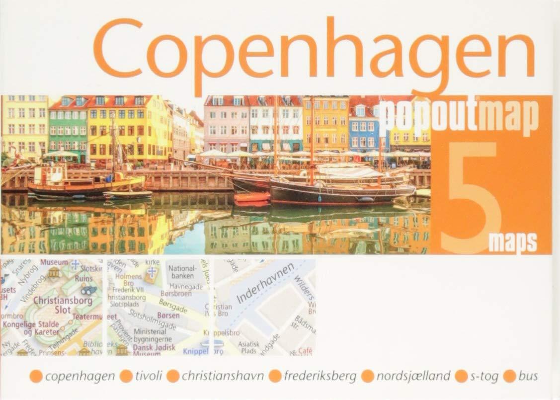 Copenhagen Double  Popout Maps