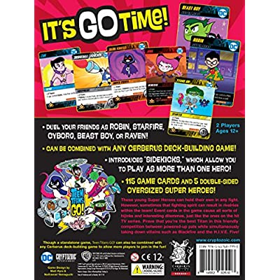Cryptozoic Entertainment Teen Titans Go DBG Board Game: Toys & Games