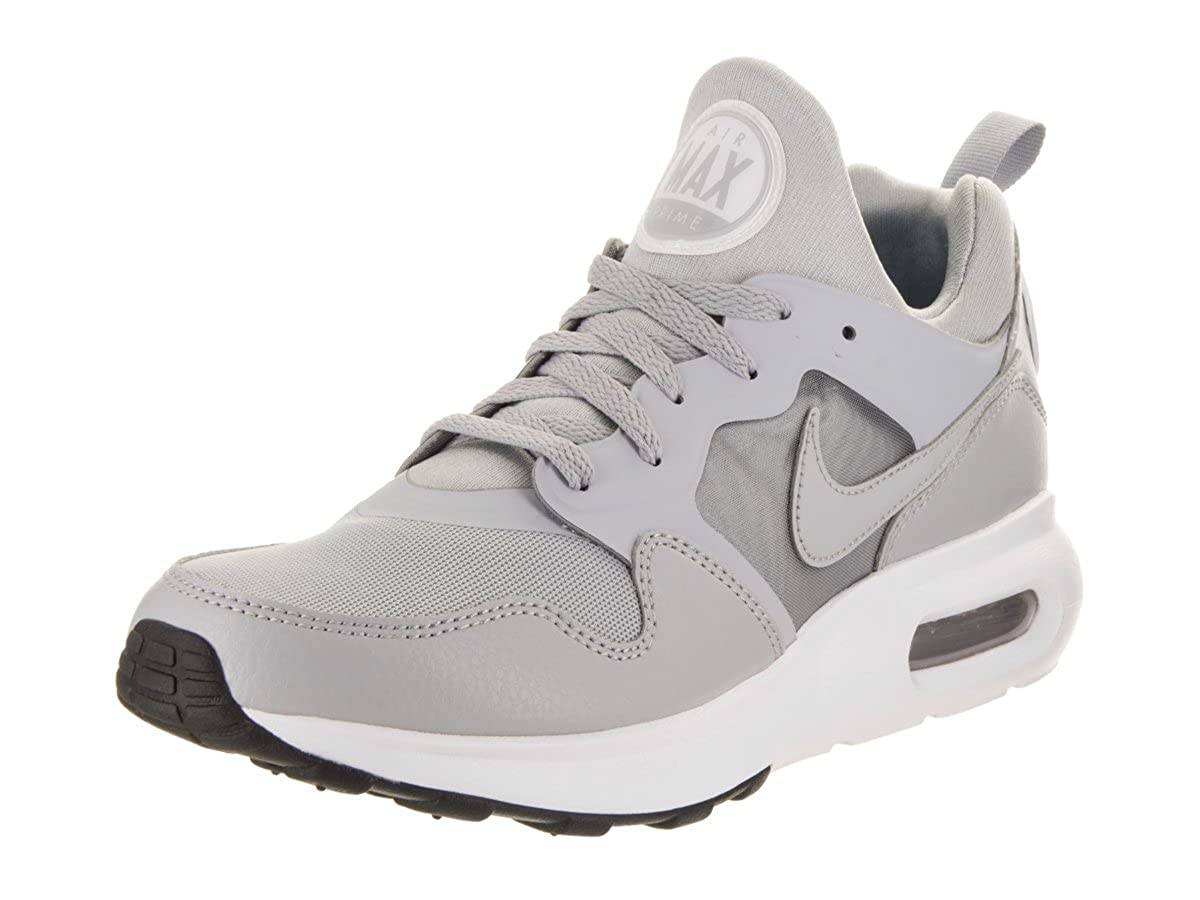 MultiCouleure (Wolf gris   Wolf gris   blanc 002) Nike Air Max Prime, Baskets Mode Homme 45 EU