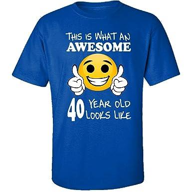 Amazon.com: Emoji cumpleaños 40TH Regalos de cumpleaños ...