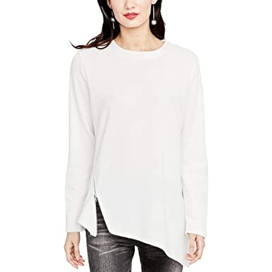8e27a63aee0 Image Unavailable. Image not available for. Color: Rachel Rachel Roy Womens  Asymmetric Side Zip Tunic ...