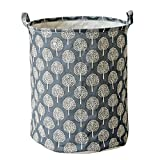 Storage Bins Basket, Further Reductions! E-Scenery Large Waterproof Storage Cube Containers Organizers with Carry Handles for Home Closet Office Clothes Laundry Toys, 14 x 14 x 18 inches (Black)