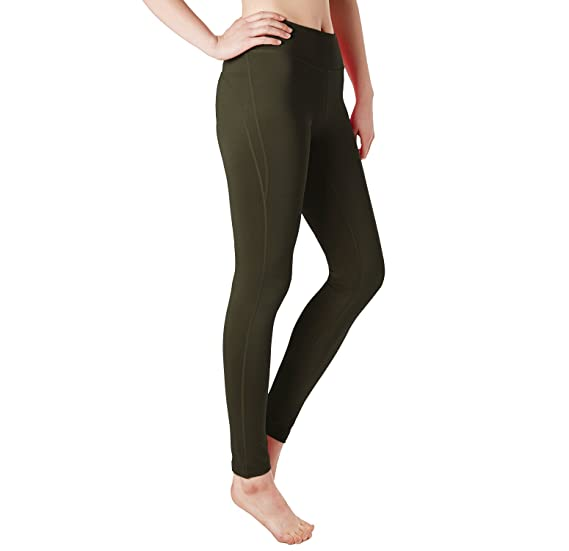 bac4b9a09e7870 DRSKIN High Waist Out Yoga Pants Tummy Control Workout Running 4 Way  Stretch Flex Yoga Leggings