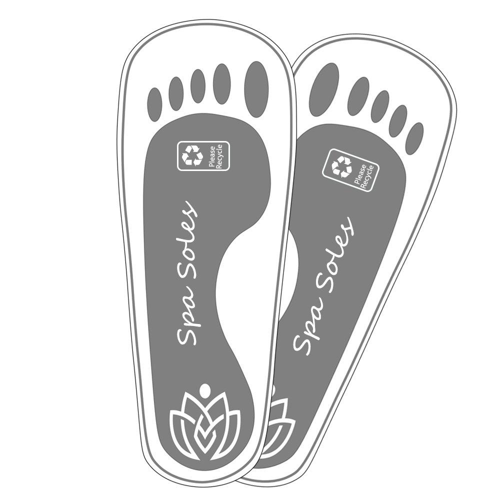 Black Foam Disposable Spray Tanning Sandal - 500 pr
