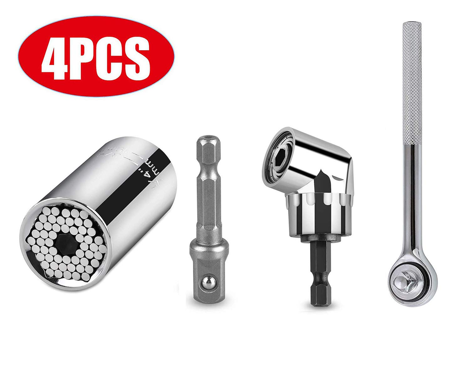 christmas gifts,dad gifts socket wrench set Tools,Gifts for dad tools for men Universal Socket 3pcs Tool set 7-19mm