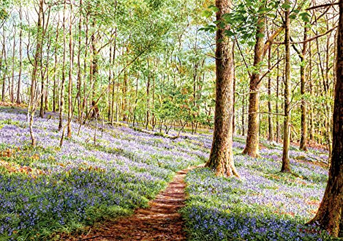 Wentworth Bluebells, Brathay Woods 250 Piece Wooden Keith Melling Jigsaw - Piece 250 Wood