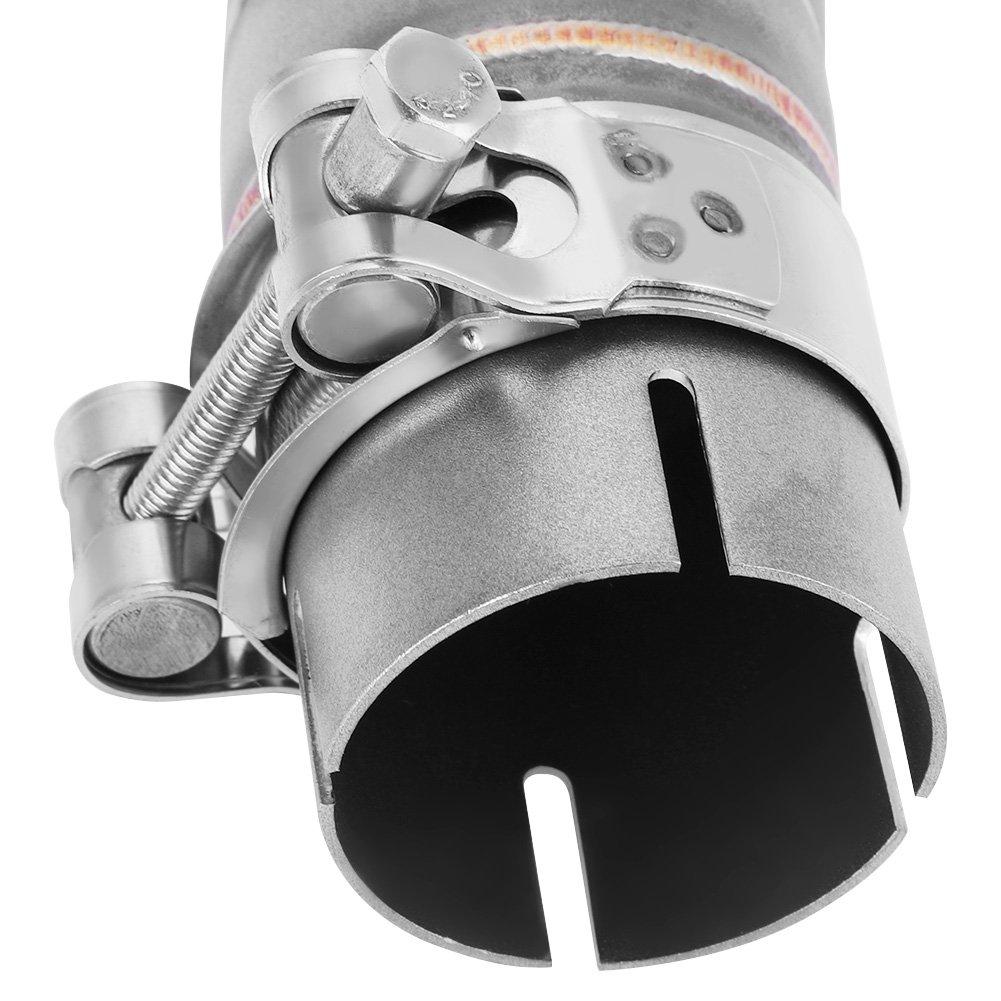 KIMISS Tubo de enlace Medio de Escape de Escape Modificado del Motocicleta para SUZIKI GSX-R1000 2005-2006