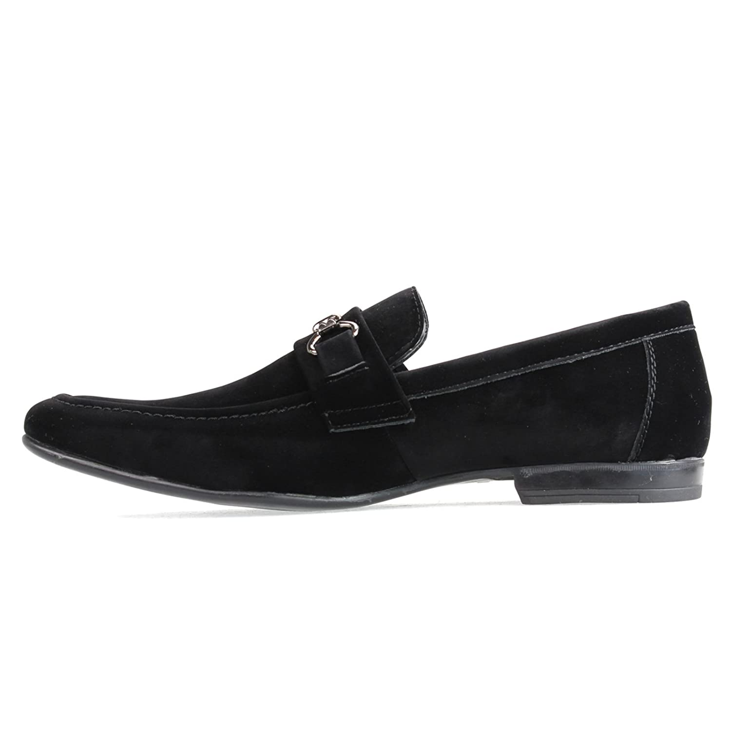 An By Lucius Mens Casual Shoes Driving Bit D Island Comfort Loafers Suede Black Original Boat Shoe Opera Slip On Moccasin Training Flat Low Espadrille