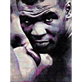 MIKE IRON TYSON BOXING ICON ART PRINT POSTER OIL PAINTING LLFF0128