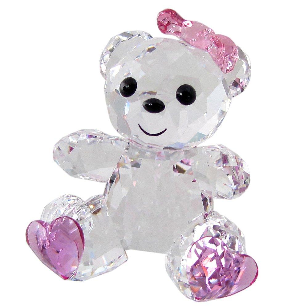 スワロフスキー SWAROVSKI クリスタル フィギュア クリスベア Kris Bear スウィートハート Sweetheart #5301571 [並行輸入品] B079M9D5RT