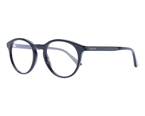 Gucci - Monture de lunettes - Femme Noir Noir 50  Amazon.fr ... 4c32e8e5e8f5