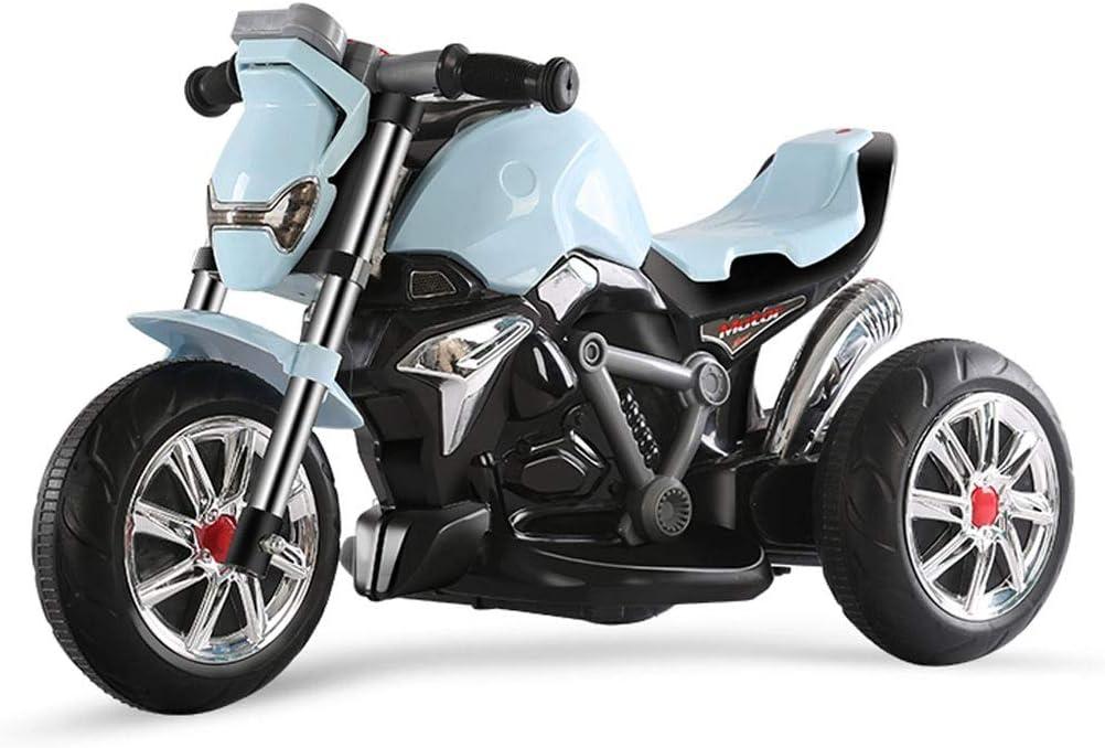 LHR888 Motocicleta eléctrica para niños Triciclo para niños Bebé Juguete Coche Música Eléctrica Recargable Motocicleta Niño Regalo Función de educación temprana